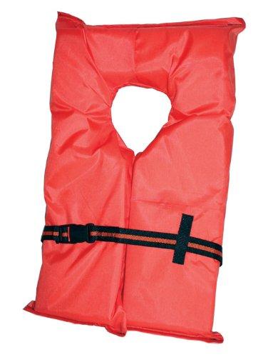 Kent Adult Compliance PFD Type II Life Jacket Large3 X Large Orange 0 - Absolute Outdoor Kent Adult Compliance PFD Type II Life Jacket (Large/3 X-Large, Orange)